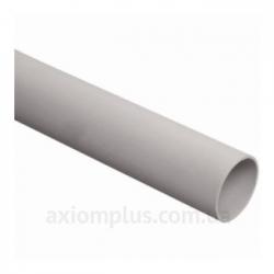 Труба жесткая гладкая легкая, ПВХ d25 2м